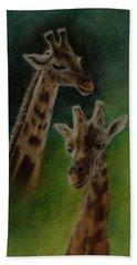 Giraffe Giraffe Beach Towel
