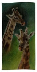 Giraffe Giraffe Beach Sheet