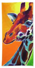 Giraffe - Summer Fling Beach Sheet