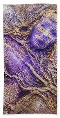 Girl In Purple Beach Sheet
