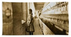 Girl Spinner 11 Years Old Rhodes Manufacturing Co Lincolnton 1908 Beach Sheet