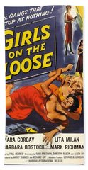 Girls On The Loose Beach Towel