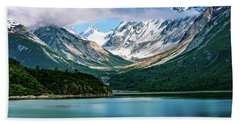 Glacial Valley Beach Towel
