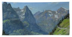 Glacier Afternoon Beach Towel