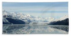 Glacier Bay Reflections Beach Towel by Susan Lafleur