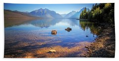 Glacier National Park View Beach Towel