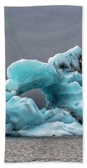 Glacier With Hole Beach Sheet