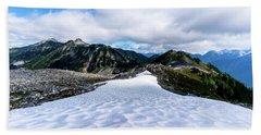 Glaciers At North Cascades Beach Sheet
