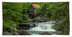 Glade Creek Grist Mill In May Beach Towel