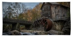 Glade Creek Water Wheel Beach Towel