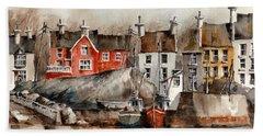 Glandore Harbour, Cork... X111 Beach Towel