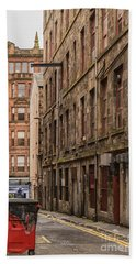 Glasgow Backstreet Beach Towel