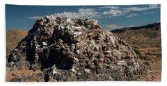 Glass Mountain Capital Reef National Park Beach Towel