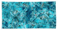 Glass Sea Beach Towel
