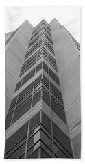 Beach Towel featuring the photograph Glass Tower by Rob Hans