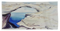 Glass Window Beach Towel