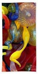 Glassworks Of The Milwaukee Art Museum Beach Towel