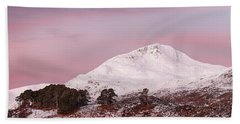 Glen Affric Sunrise Beach Towel