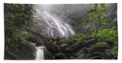 Glen Burney Falls Beach Towel