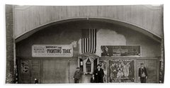 Glen Lyon Pa. Family Theatre Early 1900s Beach Towel