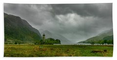 Glencoe, Scotland Beach Towel