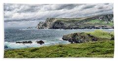 Glencolmcille Beach Towel by Alan Toepfer