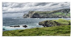 Beach Sheet featuring the photograph Glencolmcille by Alan Toepfer