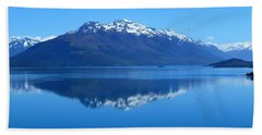 Glenorchy Road New Zealand Beach Towel