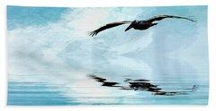 Gliding Beach Towel by Cyndy Doty