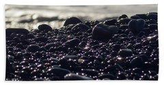 Glistening Rocks Beach Towel