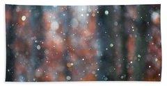 Glitterfall 1 Beach Sheet