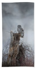 Gloomy Sunday  Beach Towel by Heather King