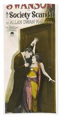 Gloria Swanson In Society Scandal 1924 Beach Towel