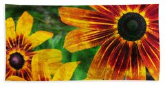 Gloriosa Daisy Beach Sheet