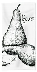 Glorious Gourds Beach Towel
