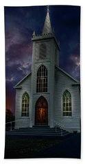 Glorious Night Church Beach Sheet