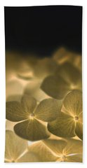Beach Towel featuring the photograph Glow Blossoms by Writermore Arts