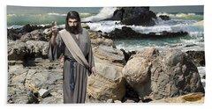 Go Your Faith Has Healed You Beach Towel