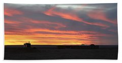 Gobi Sunset Beach Towel