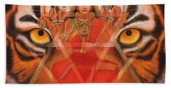 Goddess Durga Beach Sheet
