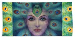 Goddess Isis Visions Beach Sheet