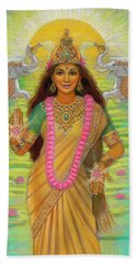 Goddess Lakshmi Beach Towel