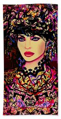 Goddess Of Beauty Beach Towel