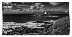 Godrevy Lighthouse 2 Beach Towel