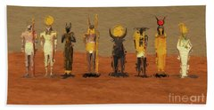 Gods Of Egypt By Mb Beach Towel