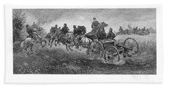 Going Into Battle - Civil War Beach Towel