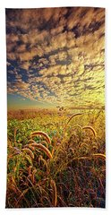 Going To Sleep Beach Towel