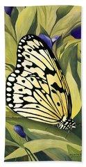 Gold Butterfly In Branson Beach Sheet