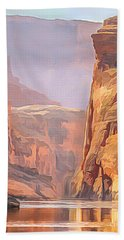 Gold Canyon River Beach Towel