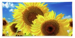 Beach Towel featuring the photograph Gold by Greg Fortier